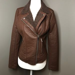 Maralyn and Me jacket in brown